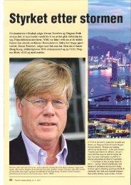 Fra kontorene i Drøbak solgte Ocean Trawlers og Magnus Roth så ...