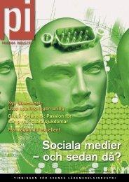 Sociala medier – och sedan då? - Pharma Industry