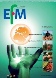 In dit nummer: - The European Fruit Magazine