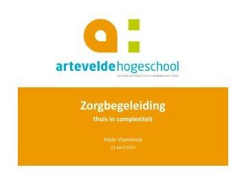 Presentatie Hilde Vlaeminck - Zorgbegeleiding
