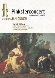 Pinksterconcert - Museum Jan Cunen