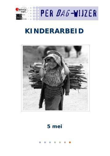 KINDERARBEID - Kennisnet