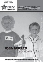 JONG GELEERD, - MSV Pulse