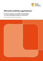Alternativa politiska organisationer - Webbutik - Sveriges Kommuner ...
