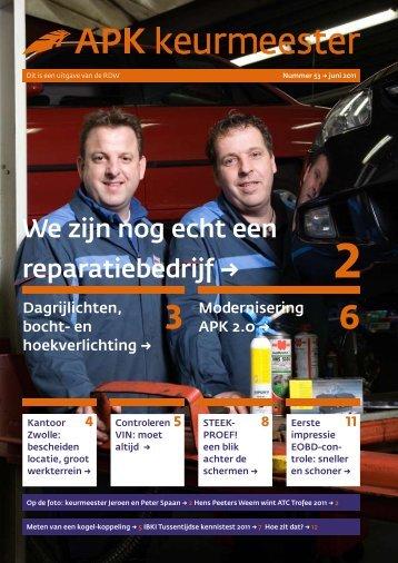 APK Keurmeester nr. 53 (Juni 2011)