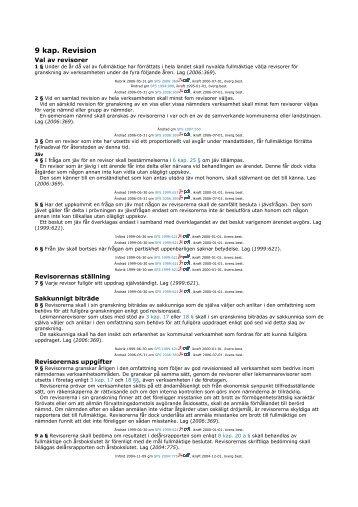kap 9 kommunallagen om revisionen.pdf