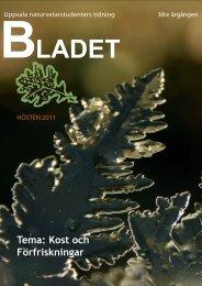Nr. 1, 2011 - BÄR | Biologiska Ämnesrådet