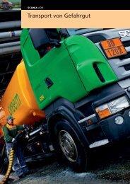 Scania ADR. Transport von Gefahrgut