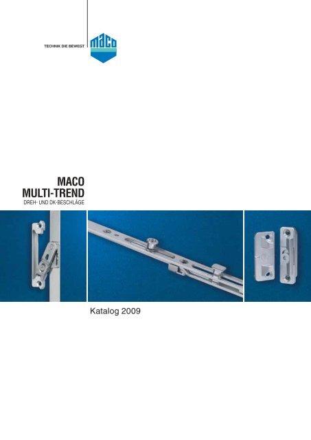 für Ecklagerband MACO TREND Abdeckkappe 42061 champagner links