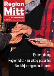 En ny tidning Region Mitt - en viktig pusselbit Nu börjar regionen ta ...
