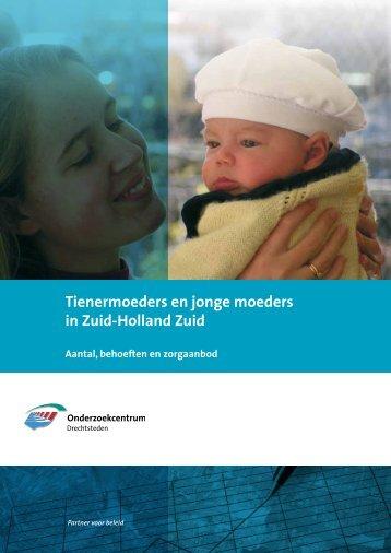 Rapport Tienermoeders en jonge moeders in Zuid-Holland-Zuid