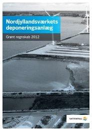 Nordjyllandsværket depot, grønt regnskab 2012 (PDF 4 ... - Vattenfall