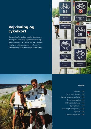 Idékatalog for cykeltrafik – Vejvisning og cykelkort - Cykelviden