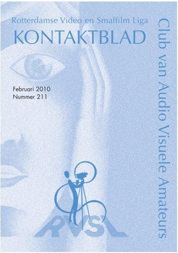 Februari 2010 print.qxp - Rotterdamse Video en Smalfilm Liga