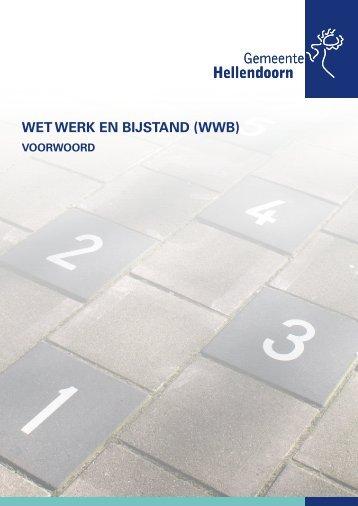 WET WERK EN BIJSTAND (WWB) - gemeente Hellendoorn