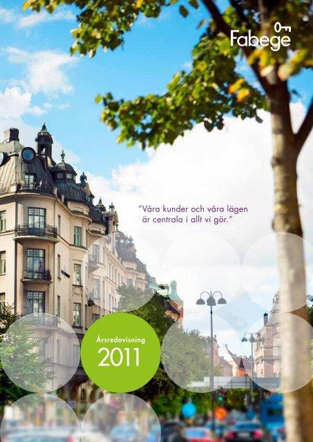 Årsredovisning 2011 PDF - Fabege.se