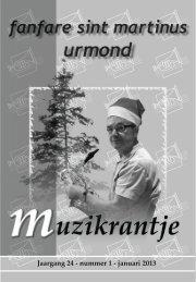 Muzikrantje Januari 2013 - Fanfare St Martinus