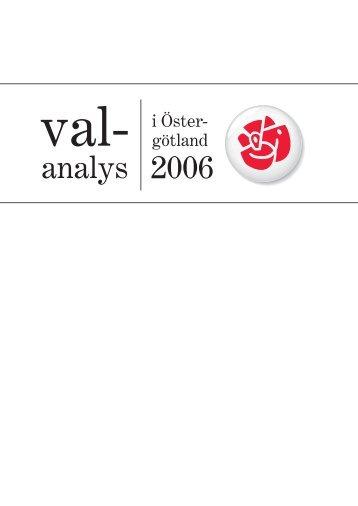 layout valanalys.indd - Socialdemokraterna