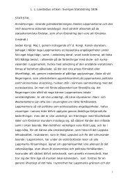 Lappmarksgränsen. Sv Statstidning - laestadiusarkivet