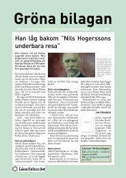 Gröna bilagan nr 2 2009 - Lärarförbundet
