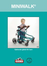 Miniwalk infoblad (OK) - Mayday Aid AB