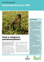 Rammebeskrivelse IPM - Scandinavian Turfgrass and Environment ...