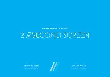 2 /// SECOND SCREEN