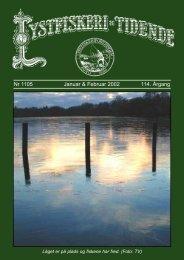 Nr 1105 Januar & Februar 2002 114. Årgang - Lystfiskeriforeningen