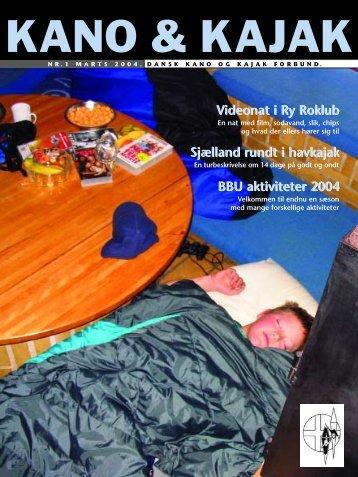 Videonat i Ry Roklub Sjælland rundt i havkajak BBU aktiviteter 2004 ...