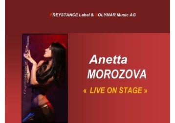 Plaquette de Présentation Anetta MOROZOVA ... - Rhône Alpes Arts