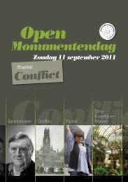 Conflict Open Monumentendag - Gemeente Bonheiden