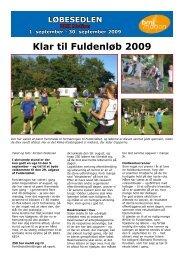 Klar til Fuldenløb 2009 - Beder-Malling Idrætsforening