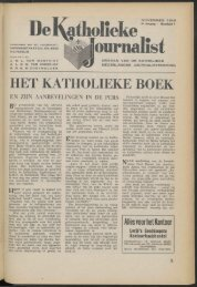 ve l\atholieke * Journalist