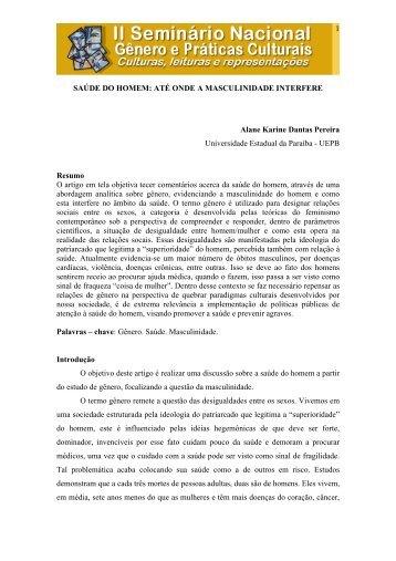 Saúde do homem: até onde a masculinidade interfere - Itaporanga.net