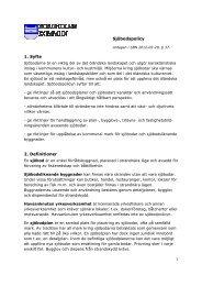 Sjöbodspolicy 1. Syfte 2. Definitioner - Borgholms kommun