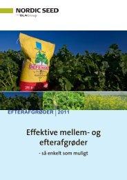 Effektive mellem- og efterafgrøder - DLA Agro