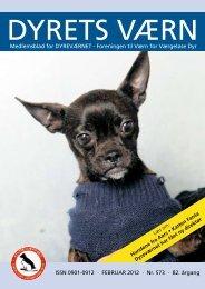 FEbRuaR 2012 - Dyreværnet