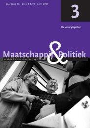 2007-3 - Maatschappij en Politiek Magazine