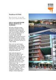 Reportage fra Oslo - Byens Netværk