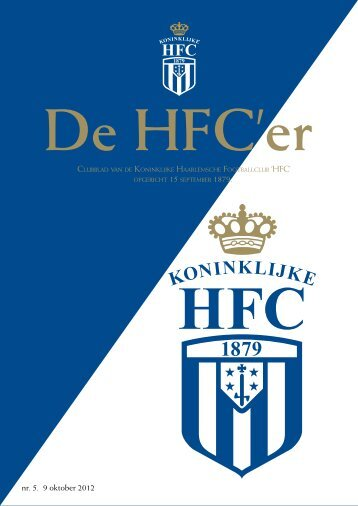 nr. 5. 9 oktober 2012 - Koninklijke HFC