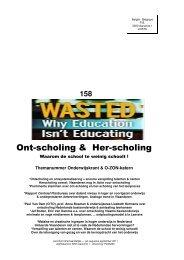 Onderwijskrant 158 Ont(her) - Beter Onderwijs Nederland