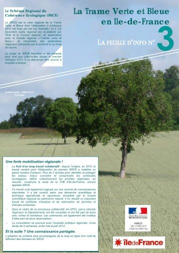 La Trame Verte et Bleue en Ile-de-France - Sivry Courtry