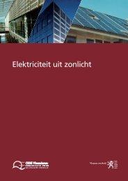 Elektriciteit uit zonlicht - Bespaar Energie