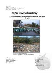 Avfall och avfallshantering - Svenska FN-förbundet