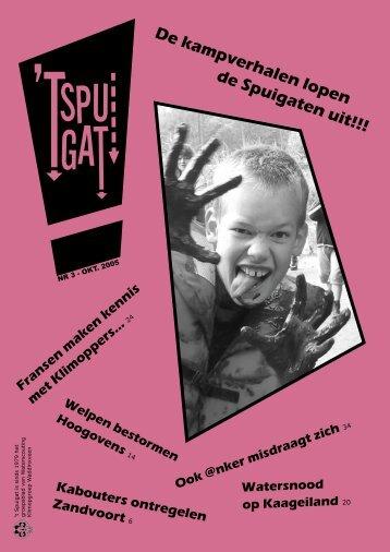 t Spuigat van oktober 2005 - Waterscouting Klimopgroep ...