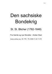 Den sachsiske Bondekrig