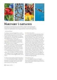 Kursusdag i naturen og stressforbyggelse for Dansk ... - naturterapi.dk