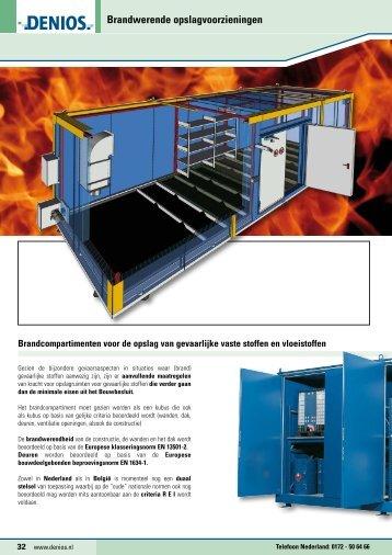 DENIOS Catalogus Brandwerende opslagvoorzieningen
