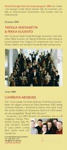 Musik på Åland 2004 - Kulturföreningen Katrina - Page 2