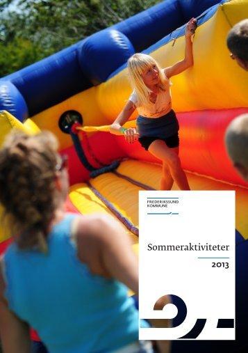 FrederikssundKommune_Sommeraktiviteter ... - Jægerspris Skole